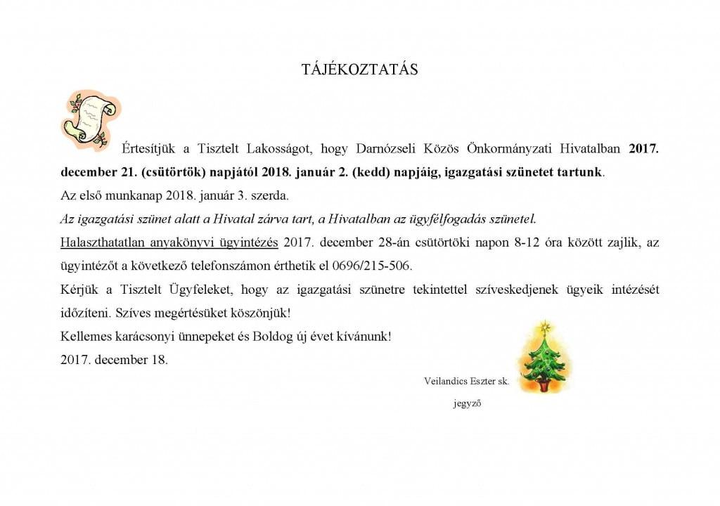 TAJEKOZTATAS-igazgatasi-szunetrol-2017-Darno
